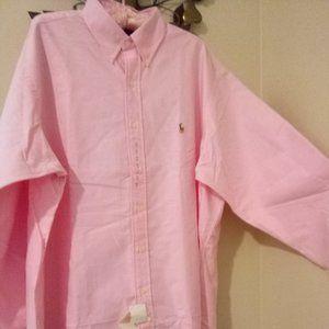 NWT Ralph Lauren Yarmouth Dress Shirt